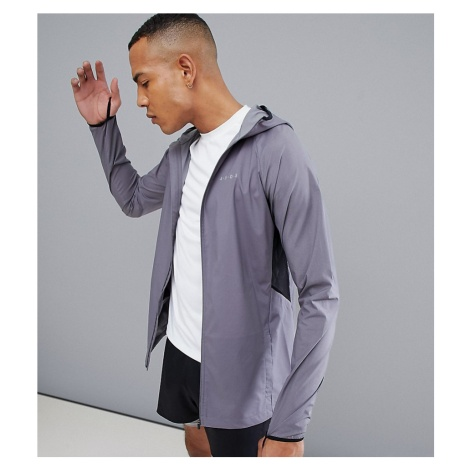 ASOS 4505 Tall windbreaker with breathable mesh panels in grey