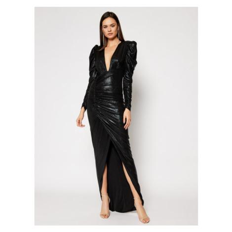 Babylon Sukienka wieczorowa S00946 Czarny Slim Fit