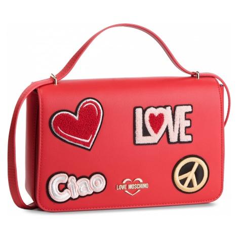 Torebka LOVE MOSCHINO - JC4083PP17LJ0500 Rosso
