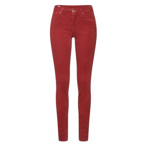 Pepe Jeans Spodnie czerwony