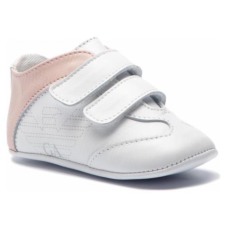 Sneakersy EMPORIO ARMANI - XLX002 XON01 N862 White/Pink