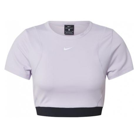 NIKE Koszulka funkcyjna 'Aero' liliowy / czarny