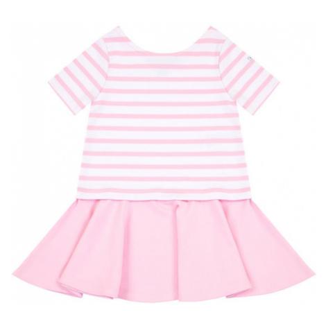 Polo Ralph Lauren Sukienka codzienna Ponte 311765704 Różowy Regular Fit