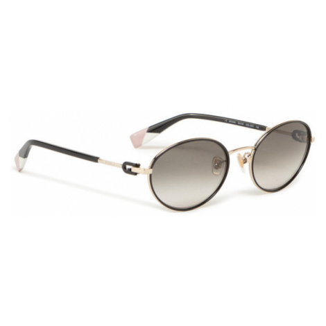 Furla Okulary przeciwsłoneczne Sunglasses SFU458 WD00001-MT0000-O6000-4-401-20-CN-D Czarny