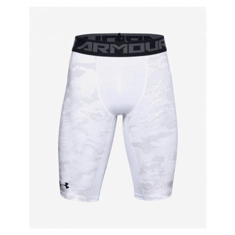 Under Armour HeatGear® Armour Extra Long Printed Szorty Biały