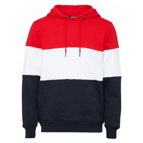 Urban Classics Bluzka sportowa granatowy / ognisto-czerwony / biały
