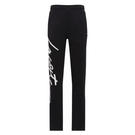 Lacoste LIVE Spodnie 'PANTALON' czarny / biały