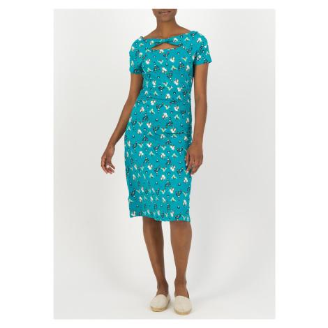 Blutsgeschwister niebieska sukienka letnia Nouvelle Vague Spirit Of Sahara