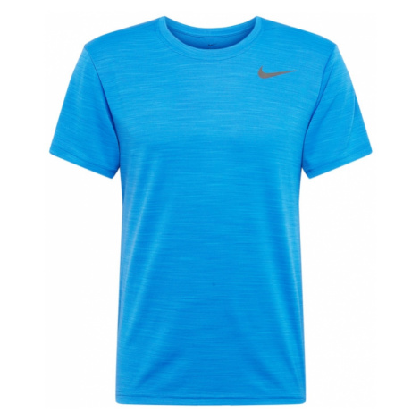 NIKE Koszulka funkcyjna 'SUPERSET' królewski błękit / szary
