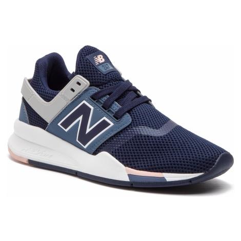 Sneakersy NEW BALANCE - WS247TRF Granatowy