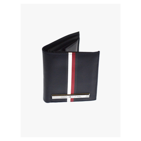 "Tommy Hilfiger ""Corp Plaque Stripe Trifold"" Blue"