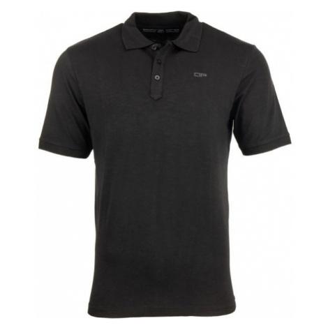 ALPINE PRO SIMEON czarny XXL - Koszulka polo męska