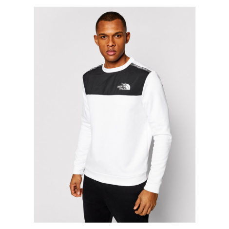The North Face Bluza M Ma NF0A5597FN41 Biały Regular Fit