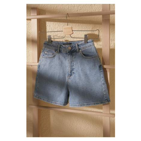 Women's shorts Trendyol Mom Denim Shorts