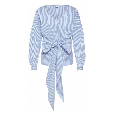 BOSS Bluzka 'Eura_1' niebieski / biały Hugo Boss