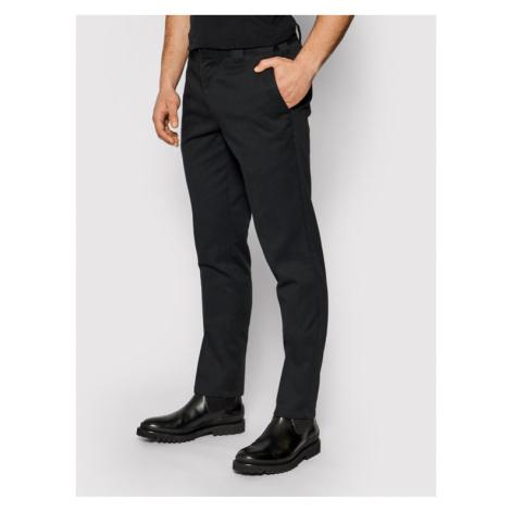 Dickies Spodnie materiałowe Work DK0WE872 Czarny Slim Fit
