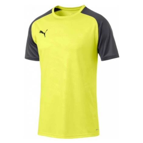 Puma CUP TRAINING JERSEY CORE żółty XXL - Koszulka piłkarska męska