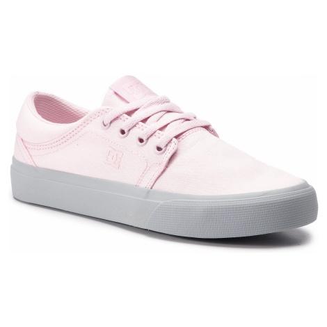 Tenisówki DC - Trase Tx ADYS300126 Grey/Pink (Gp2)