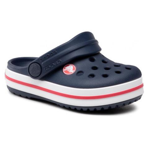 Crocs Klapki Crocband Clog K 204537 Granatowy