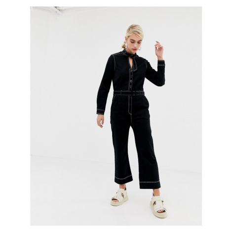 2NDDAY Agnes jumpsuit with contrast stitching