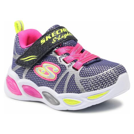 Sneakersy SKECHERS - Shimmer Beams-Sporty 302042N/NVMT Navy/Multi