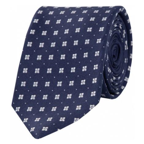 Tommy Hilfiger Tailored Krawat TT0TT05373 Granatowy