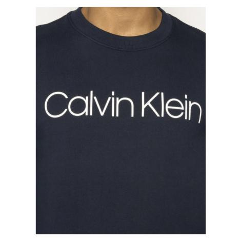Calvin Klein Bluza Logo Sweatshirt K10K104059 Granatowy Regular Fit