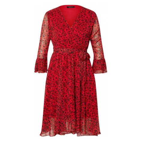 Trendyol Sukienka koszulowa czerwony