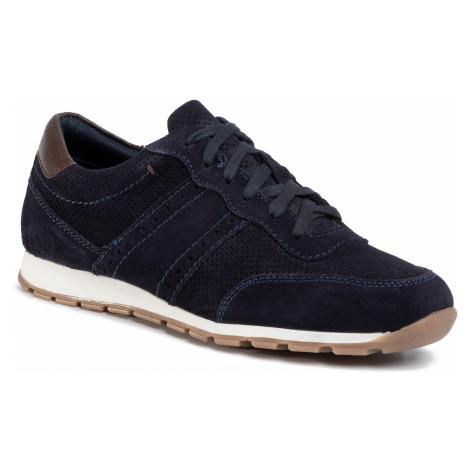Sneakersy WITTCHEN - 90-M-301-7 Granatowy