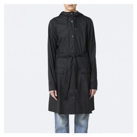 Płaszcz damski Rains Curve Jacket 1206 BLACK