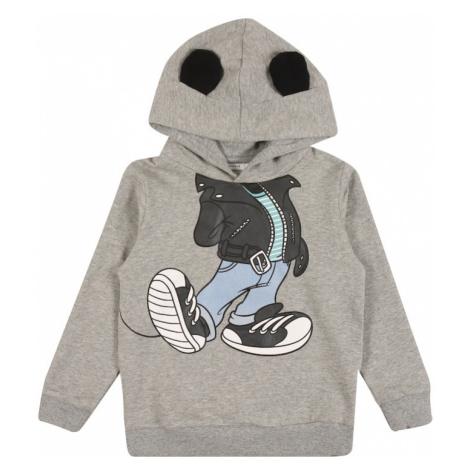 NAME IT Bluza 'Mickey' szary / czarny / biały / jasnoniebieski / mieszane kolory