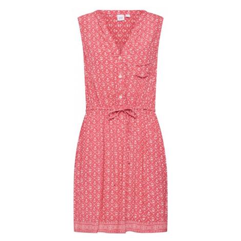 GAP Sukienka koszulowa czerwony