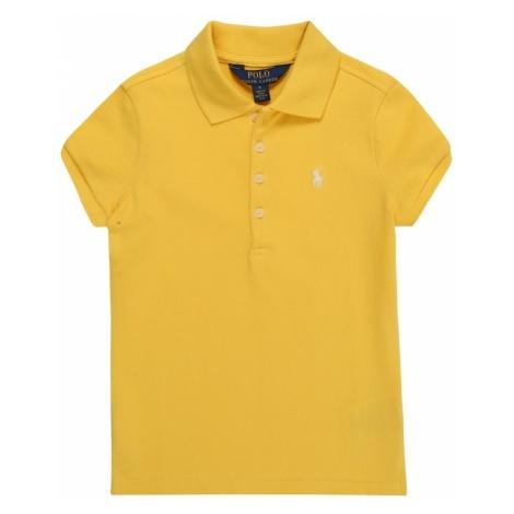 POLO RALPH LAUREN Koszulka 'STRETCH MESH' żółty