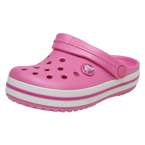 Crocs Buty otwarte 'Crocband' biały / różowy