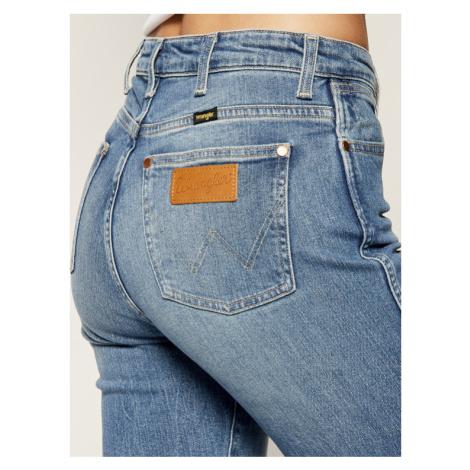 Wrangler Jeansy Slim Fit The Retro W22AJH96M Niebieski Slim Fit