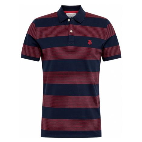 SELECTED HOMME Koszulka czerwony / ciemny niebieski