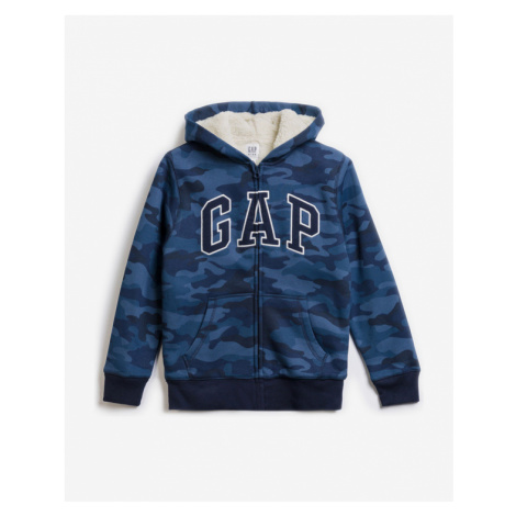 GAP Bluza dziecięca Niebieski