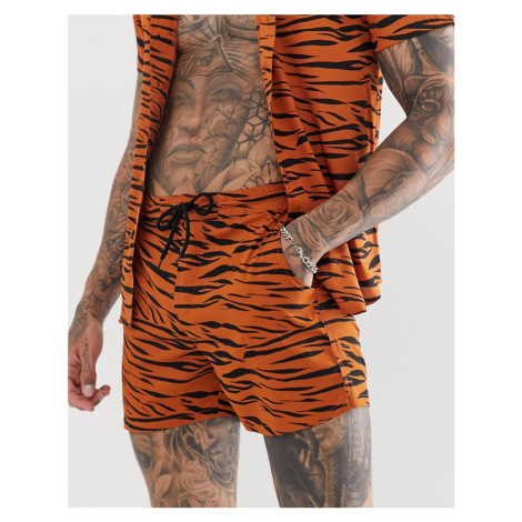 Another Influence CO-ORD tiger animal short