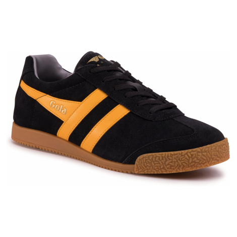 Sneakersy GOLA - Harrier Suede CMA192 Black/Sun/Grey