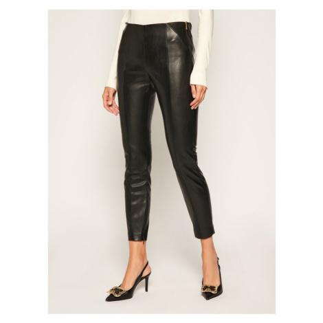 Joop! Spodnie skórzane 58 Jp511 Sara 30023422 Czarny Slim Fit