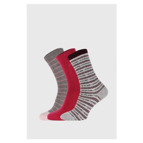 Damskie klasyczne skarpetki Calvin Klein