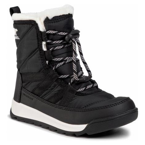 Śniegowce SOREL - Youth Whitney II Short Lace NY3902 Black 010