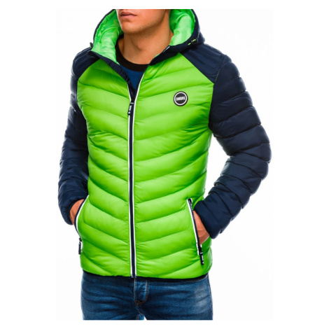 Ombre Clothing Men's mid-season quilted jacket C354