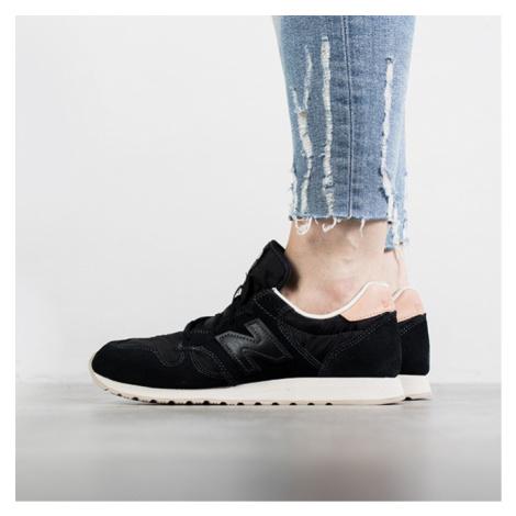 Buty damskie sneakersy New Balance WL520BK