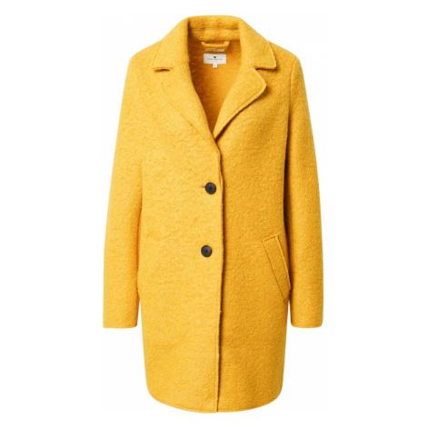 TOM TAILOR Płaszcz zimowy żółty