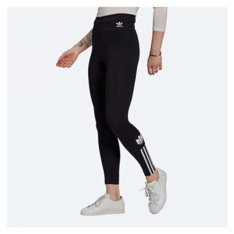 Legginsy damskie adidas Originals Adicolor 3D Trefoil High-Waisted Tights GT8461
