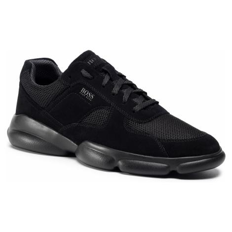 Sneakersy BOSS - Rapid 50432847 10214574 01 Black 001 Hugo Boss