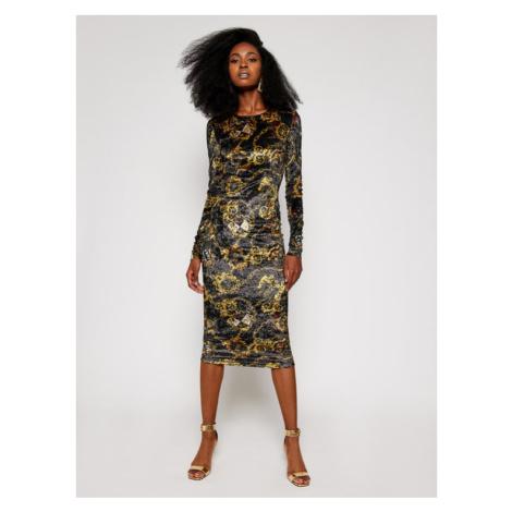 Versace Jeans Couture Sukienka codzienna D2HZB426 Kolorowy Regular Fit