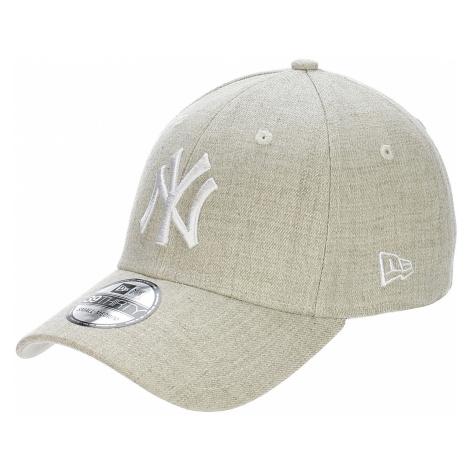 czapka z daszkiem New Era 39T Heather MLB New York Yankees - Heather Oatmeal