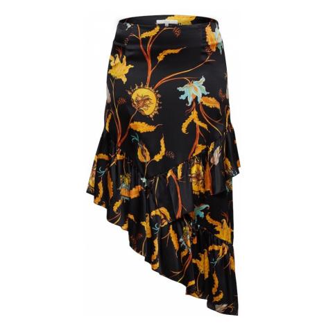 POSTYR Spódnica 'POSNARCIS ' żółty / czarny